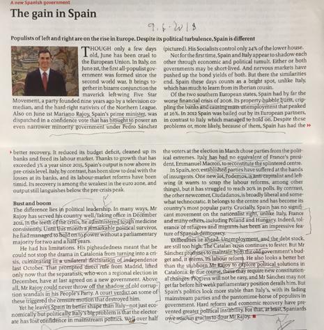 18f09 Economist Muchas gracias Señor Rajoy Uti 465