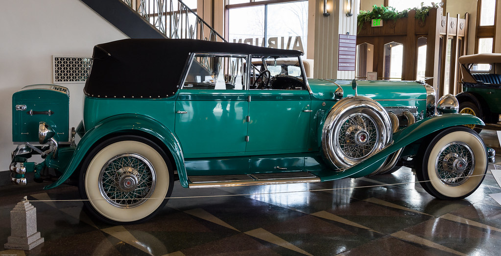 1930 Duesenberg J Convertible Sedan