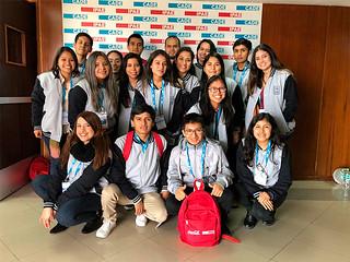 """""""Hagamos lo correcto. Que nuestra batalla sea convivir"""" fue el lema principal de la vigésimo cuarta edición de la Conferencia Anual de Ejecutivos (CADE) Universitaria 2018, el encuentro de jóvenes estudiantes más grande del Perú."""