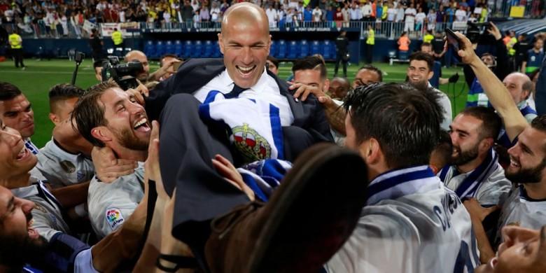 Pencapaian Zinedine Zidane Di Real Madrid Akan Sangat Sulit Di Sama Kan
