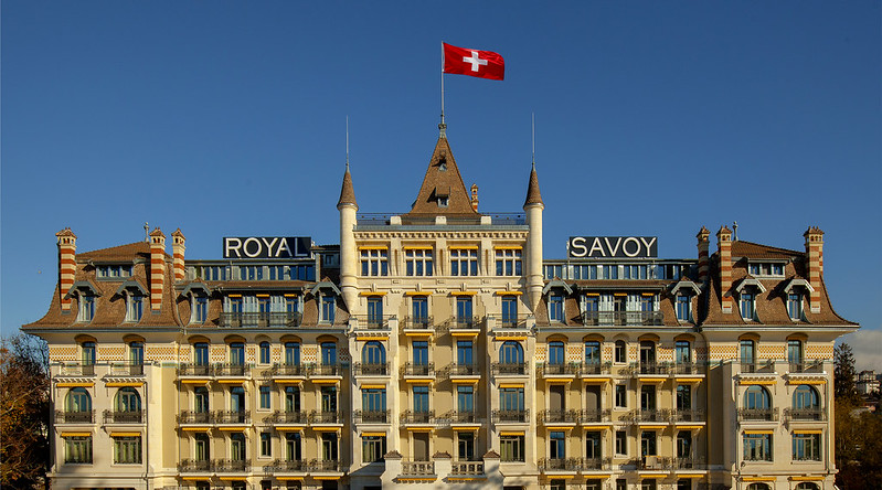 Royal Savoy Hotel, Lausanne, Switzerland
