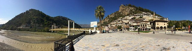 Berat Old Town Panorama 02
