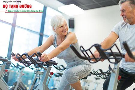 Đạp xe tại chỗ là lựa chọn hoàn hảo cho người có biến chứng thần kinh