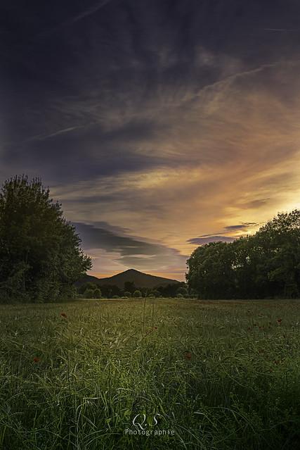 Coucher de soleil en, Canon EOS 7D, Canon EF 24-70mm f/4L IS USM