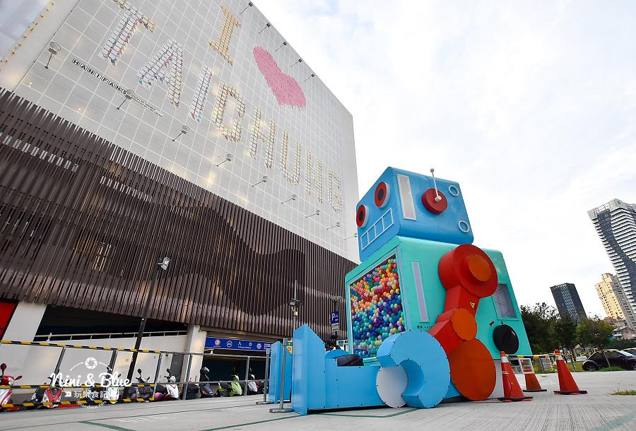 米茲機器人-巨型扭蛋機.台中場10