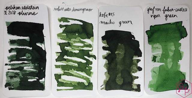 Pelikan Edelstein Olivine Ink Review @AppelboomLaren @Pelikan_World 12