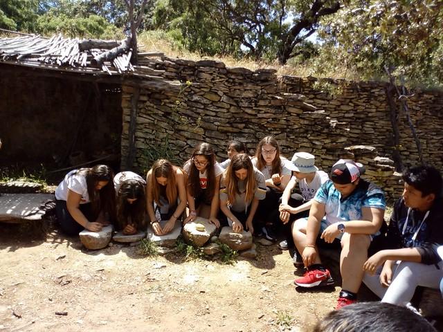 Visita poblado prehistórico Algaba Ronda