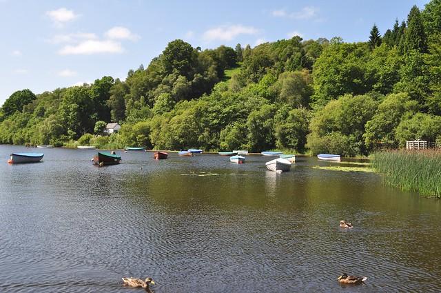 Le Loch Lomond près de Balloch, Dunbartonshire, Ecosse, Royaume-Uni.