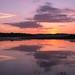Tything Barn Sunset