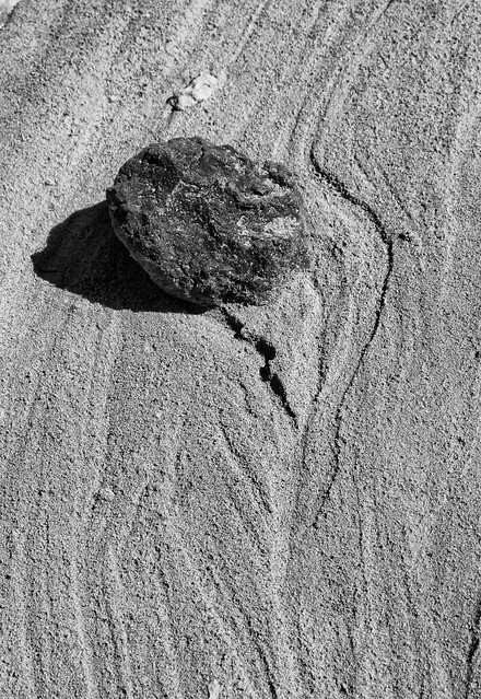Rock in the Sand