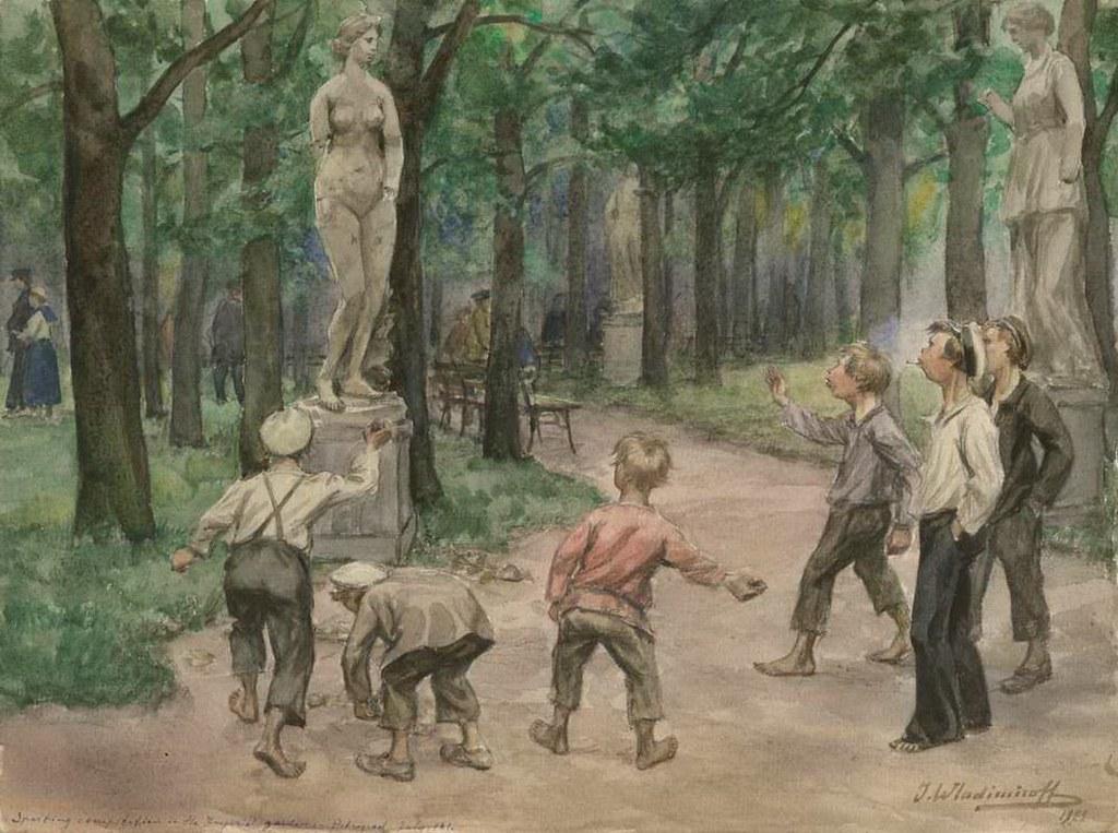 俄国内战与革命的写实绘画26