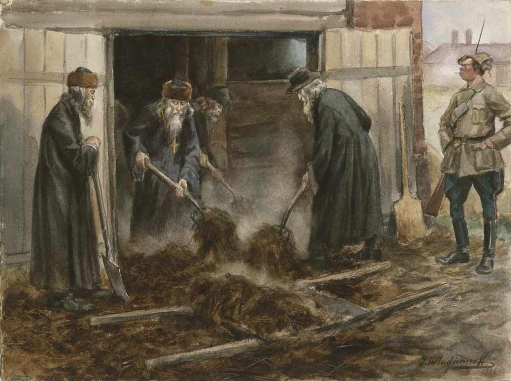 俄国内战与革命的写实绘画18
