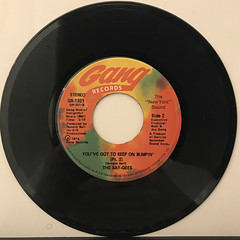 THE KAY-GEES:YOU'VE GOT TO KEEP ON BUMPIN'(RECORD SIDE-B)