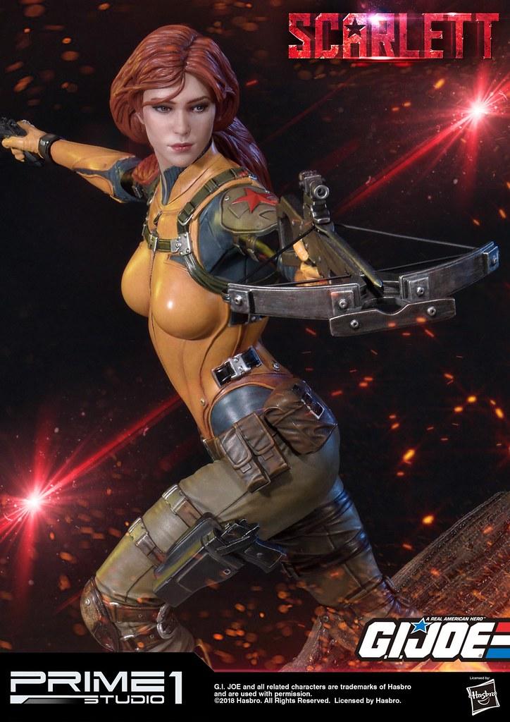 性感又強悍的紅髮尤物!! Prime 1 Studio《除暴突擊隊 G.I. Joe》史嘉蕾 G.I.ジョー スカーレット Scarlett PMGJ-05EX 1/4 比例全身雕像作品