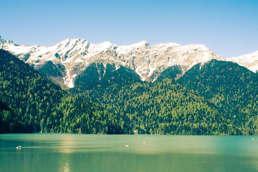 Озеро Рица. Абхазия - авторские путешествия Kartazon Dream