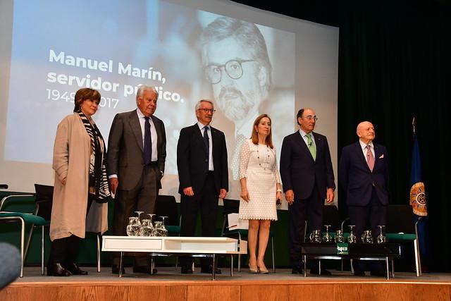 La UNED rinde homenaje a Manuel Marín