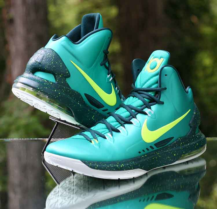 pretty nice 00e9d 1ad39 ... Nike Zoom KD 5 Hulk Atomic Teal Volt 554988-300 Men s Size 12   by