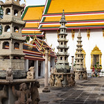 Image of Temple of the Reclining Buddha. bangkok temple templeoftherecliningbuddha thailand wat watpho watpo krungthepmahanakhon th
