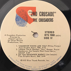 THE CRUSADERS:THE 2ND CRUSADE(LABEL SIDE-B)