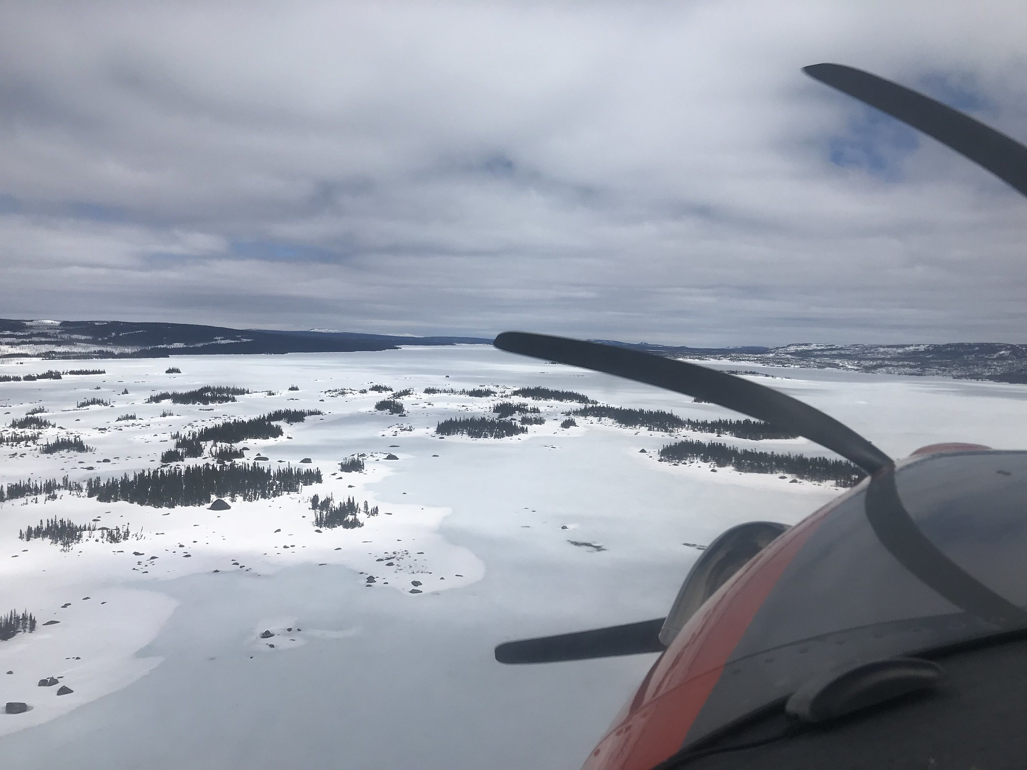 Eastern Labrador still in the grips of winter in late May,  May 2018 Photo Credit: USFWS