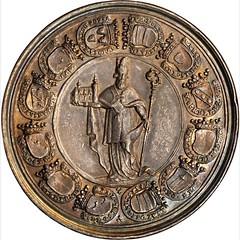 1719 Sede Vacante medal obverse
