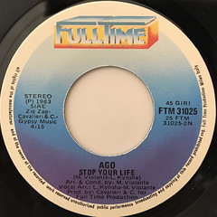 AGO:FOR YOU(LABEL SIDE-B)