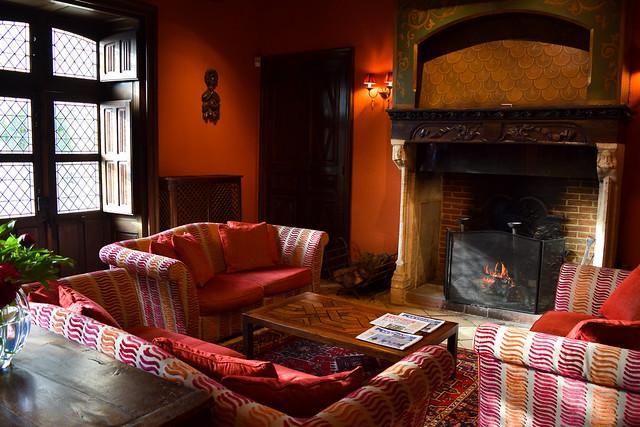 Sitting Room at Chateau de la Treyne