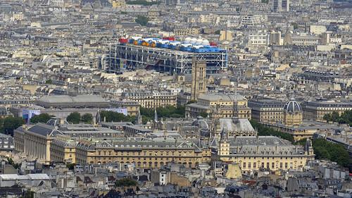 2018.05.20.004 PARIS - Tour Montparnasse - Palais de Justice, la Sainte Chapelle, Tribunal de Commerce, la tour Saint Jacques, Beaubourg