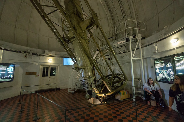 Telescope in the Transit House