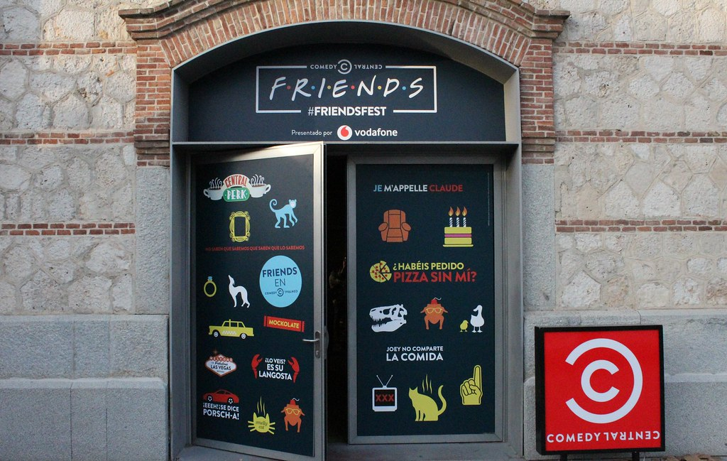 #FriendsFest en Madrid 2018