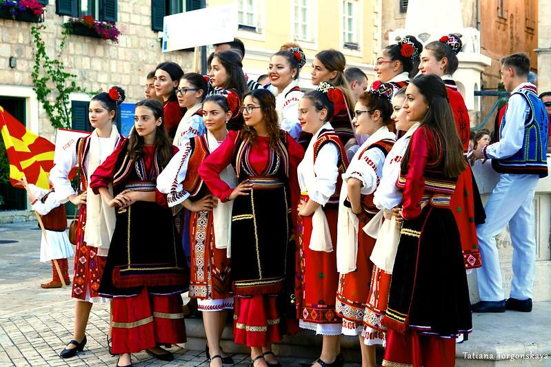 Фольклорная группа из Румынии