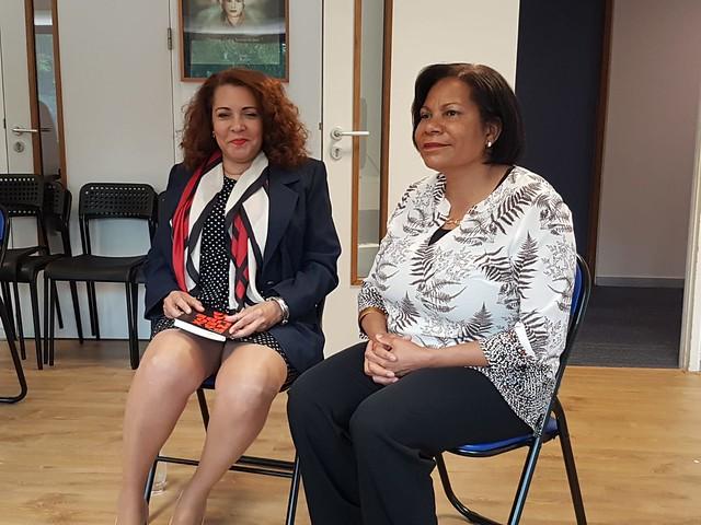 Taller sobre violencia de género-Consulado RD Ámsterdam