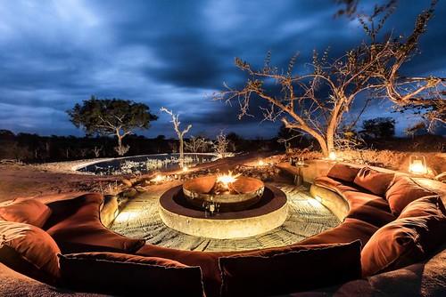 Surreal bush spa experience