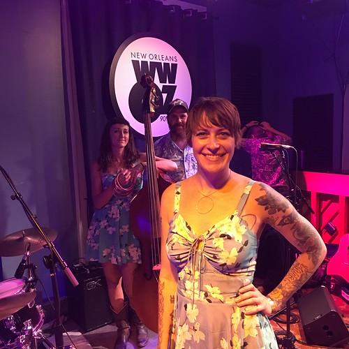 Gal Holiday & the Honky Tonk Revue at WWOZ - June 8, 2018.