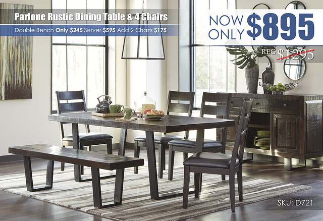 Parlone Dining Table & 4 Chairs_D721-25-01(4)-00-60-R40088