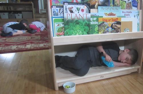 a good hiding spot