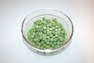 14 - Zutat Erbsen / Ingredient peas