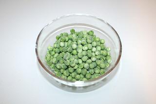 14 - Zutat Erbsen / Ingredient peas