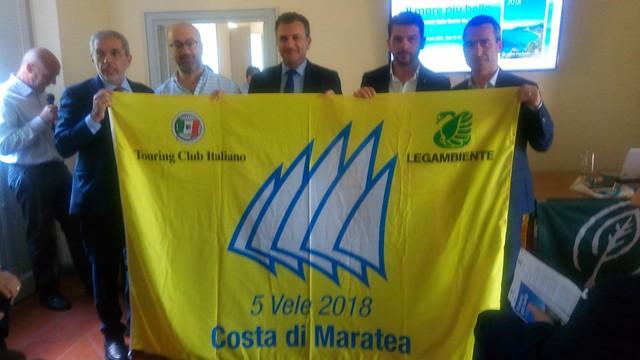 guida blu 2018 premiazione maratea