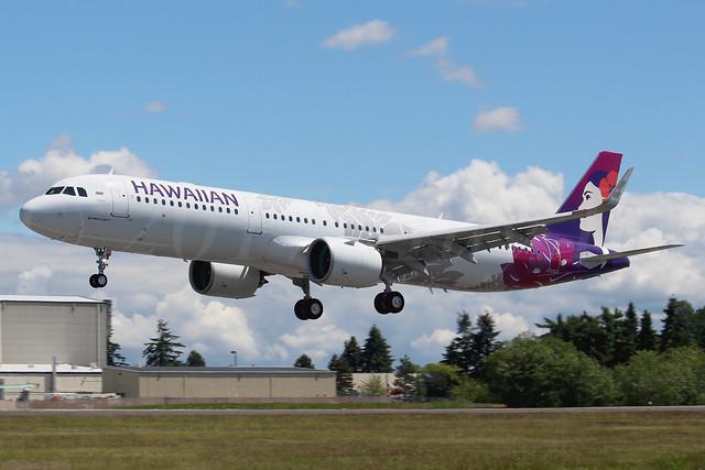 Airbus A321-271N Hawaiian Airlines N212HA