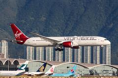 Virgin Atlantic B787-9 DREAMLINER G-VFAN 0011