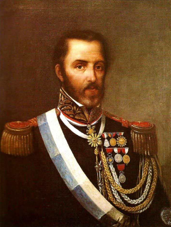 Retrato de Juan Lavalle, general unitario