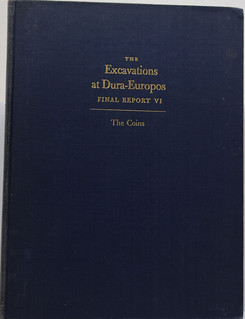 Excavations at Dura-Europos Final Report VI The Coins book cover