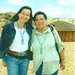 Neeta Lind and my mom, Flora Sombrero Lind at Tall Mountain, AZ. 1998?
