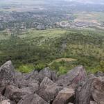 The view from Roxy Ann Peak`s summit
