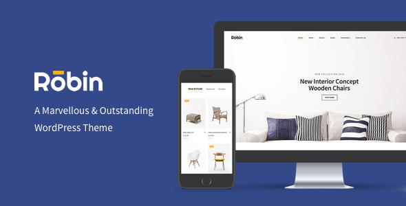 Robin v1.6.7 – A Furniture WooCommerce WordPress Theme