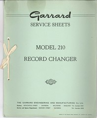 Garrard TechEng Service Manual 210
