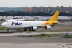 N857GT | Boeing 747-87UF | Polar Air Cargo / DHL