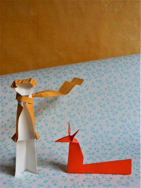 Petit Prince et renard, Nikon COOLPIX S6100