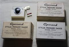 Garrard Stylus Pressure Gauge SPG3